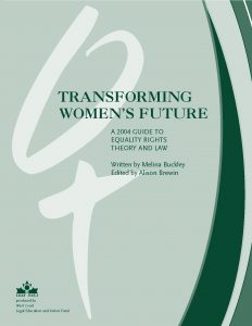 Educational Resources - 2004 - TRANSFORMING WOMEN'S FUTURE Cover