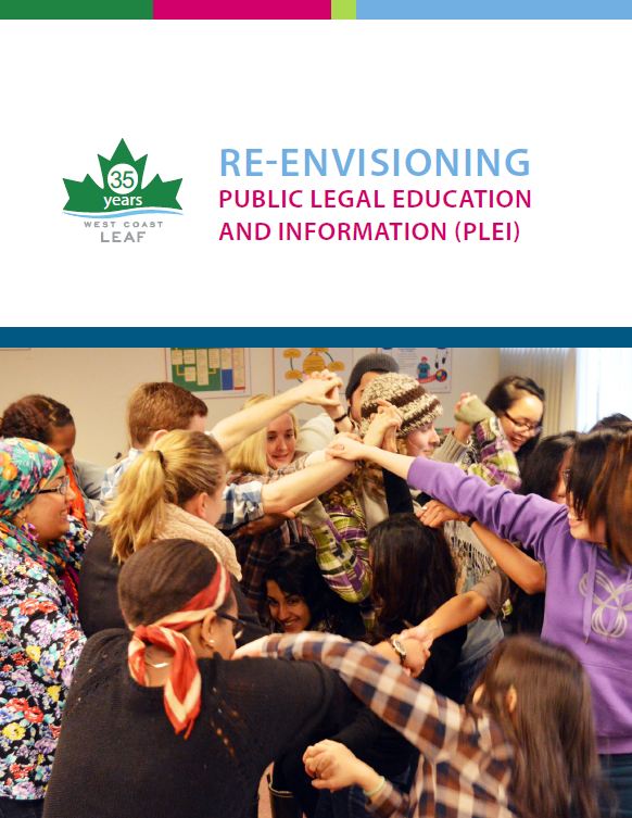 Re-Envisioning PLEI report cover